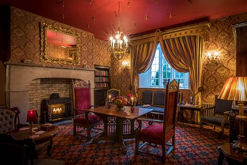 Drawing Room @ Lough Rynn Hotel © David Cantwell Photography