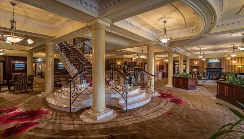 The Lobby @ The Slieve Russell Hotel © David Cantwell Photography