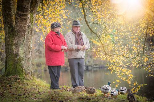 Over 55's @ Autumn - Lifestyle Photography for Maldron Hotels © David Cantwell Photography