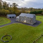 Drone Photography of House Designed by McKenna Architects © David Cantwell Photography
