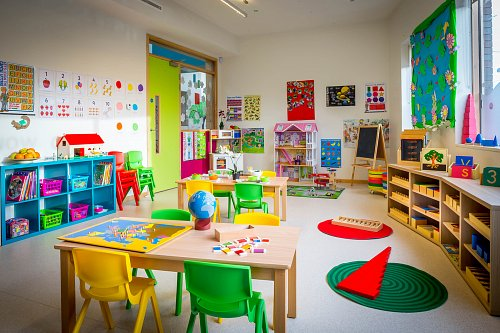 Montessori Room @ Fonthill Lodge Creche © David Cantwell Photography