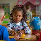 Children in Montessori Class © David Cantwell Photography