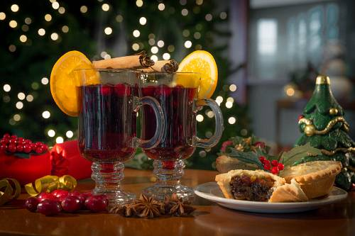 Christmas Mulled Wine @ Shearwater Hotel © David Cantwell Photography