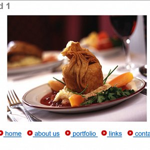 Our 1st Commercial Photography Website - Food Image Page