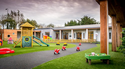 Fonthill Lodge Creche Outdoor Playground © David Cantwell Photography
