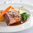 Rack of Lamb Meal  - Food Photography © David Cantwell Photography