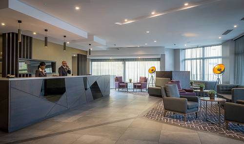 The Lobby @ Maldron Hotel Pearse Street © David Cantwell Photography