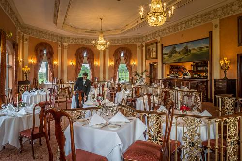 River Room Restaurant @ Glenlo Abbey Hotel © David Cantwell Photography