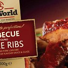 Ribworld Barbeque Spare Ribs - Advertising Photography © David Cantwell Photography