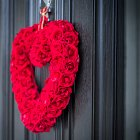 Valentines Day Heart Wreath - Seasonal Commercial Photography © David Cantwell Photography