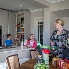 Family in Kitchen for Energia - Lifestyle Photography © David Cantwell Photography
