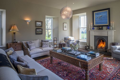 B&B Sitting Room - Interiors Photographer © David Cantwell Photography