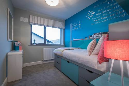 Residential Property Kids Bedroom - Interiors Photographer © David Cantwell Photography