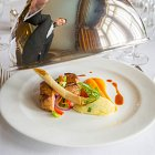 Five Star Restaurant Service at Deomoland Castle Hotel © David Cantwell Photography