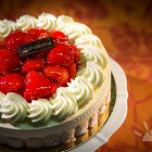 Strawberry Charlotte Cake Confectionery - Food Photography © David Cantwell Photography
