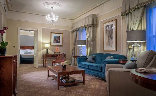 Suite Sittingroom @ The Shelbourne Hotel - Hotel Photographer © David Cantwell Photography