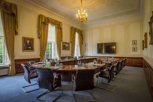 The Tower Room Boardroom Meeting Room @ The K Club - Hotels Photographer © David Cantwell Photography