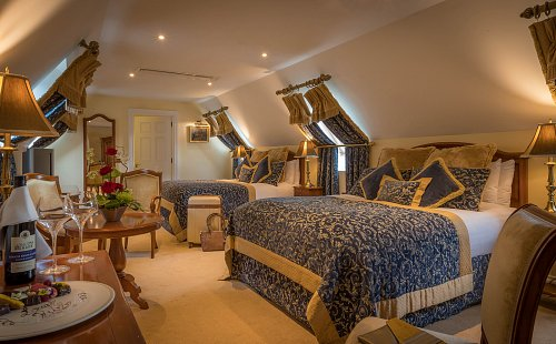 Triple Bedroom - Styled for Leisure Break @ The Lough Rynn Hotel Hotel Photographer © David Cantwell Photography