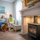 Mum & Daughter By a Cosy Fire for Energia - Lifestyle Photography © David Cantwell Photography