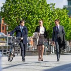 Corporates Walking to Work - Lifestyle Photography © David Cantwell Photography