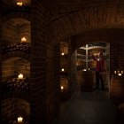 Sommelier in Wine Cellar - Food Lifestyle Photography © David Cantwell Photography